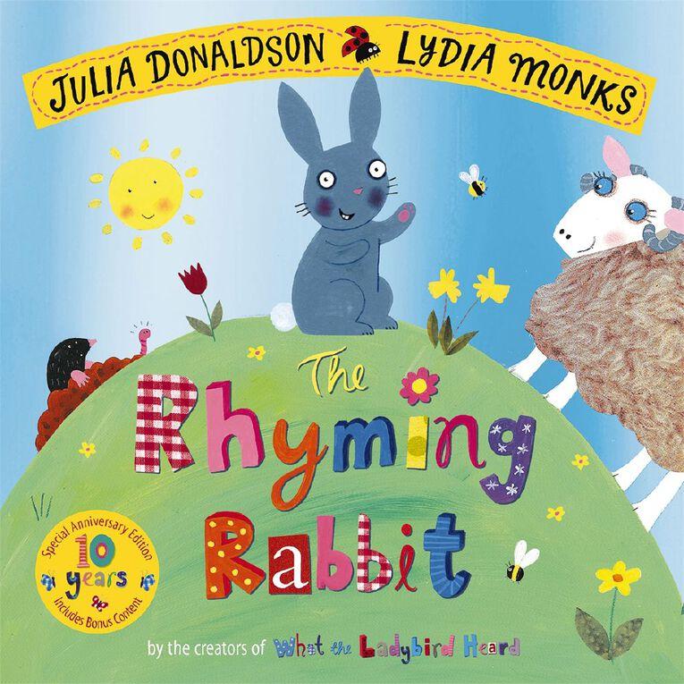 The Rhyming Rabbit 10th Anniversary Edition by Julia Donaldson, , hi-res