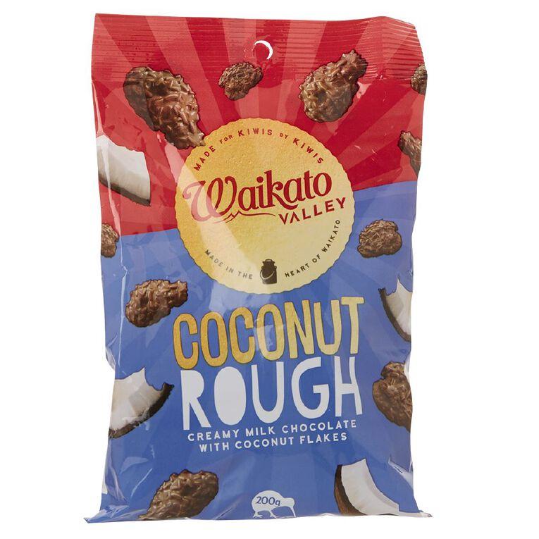 Waikato Valley Chocolates Coconut Rough Bag 200g, , hi-res