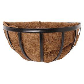 Kiwi Garden Wall Hanging Basket with Coconut Liner 35cm