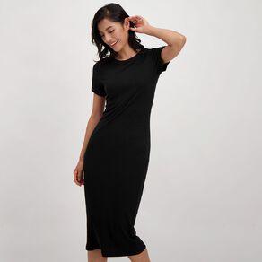 H&H Women's Rib Midi Dress