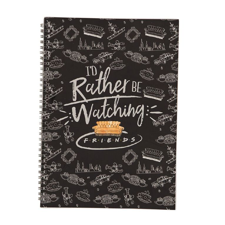 Warner Bros. Friends Softcover Notebook A4, , hi-res