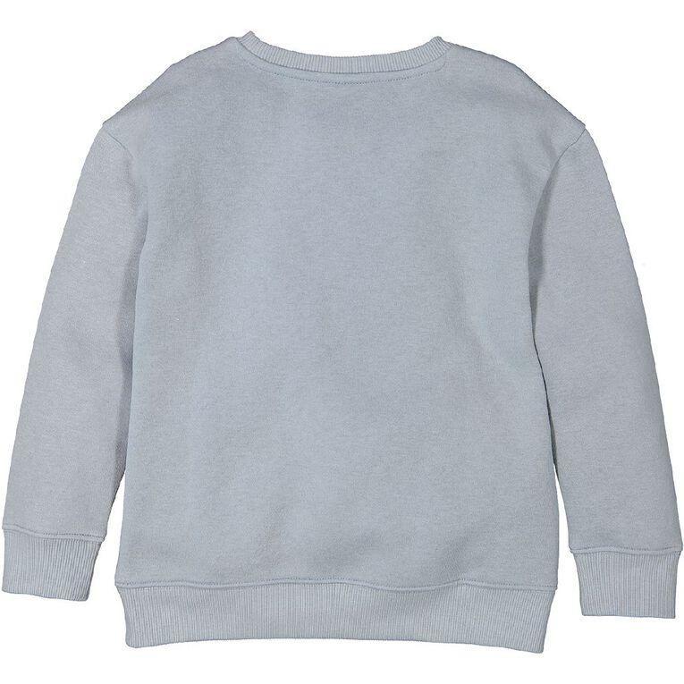 Young Original Printed Pullover Crew Sweatshirt, Blue Light, hi-res