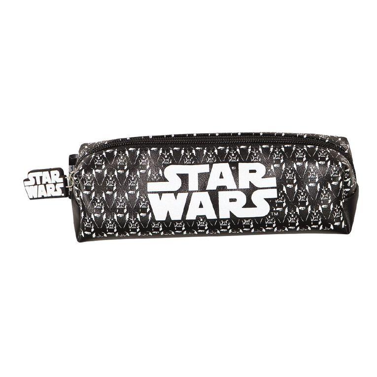 Star Wars Adult Barrel Pencil Case Black, , hi-res