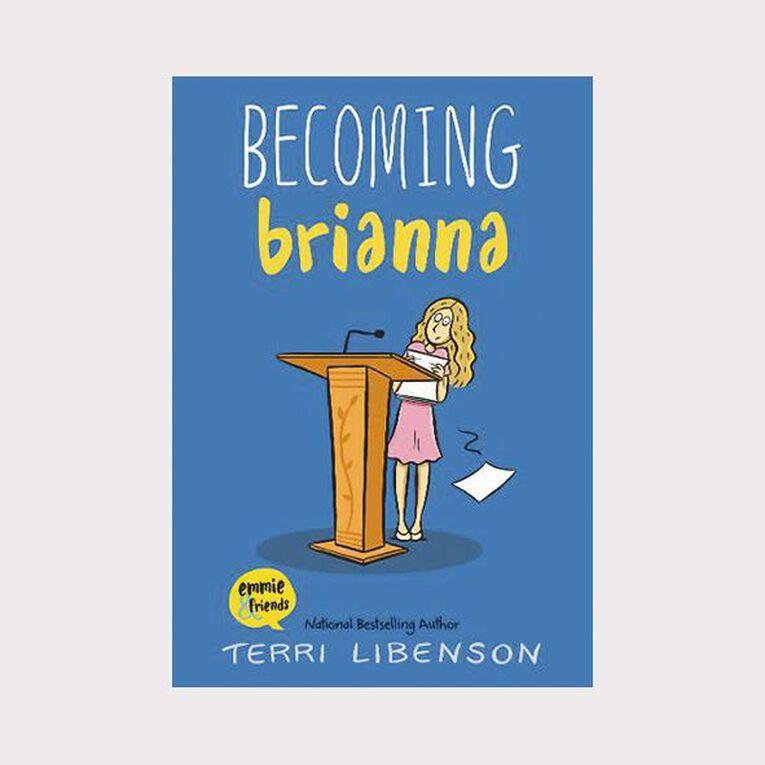 Becoming Brianna by Terri Libenson, , hi-res