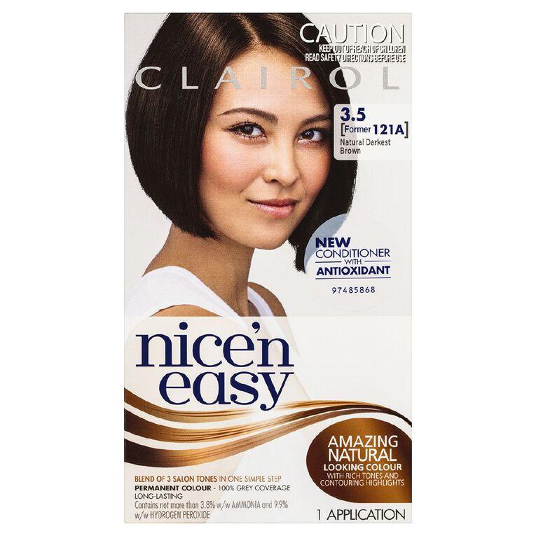 Nice 'n Easy Darkest Brown 3.5 (former 121A), , hi-res
