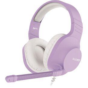 SADES Spirits Gaming Headset Purple