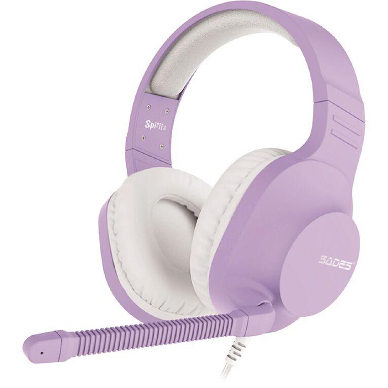 SADES Spirits Gaming Headset Purple, , hi-res
