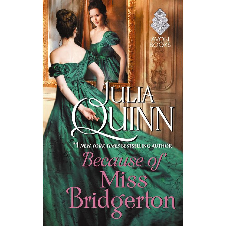 Rokesby #1 Because of Miss Bridgerton by Julia Quinn, , hi-res