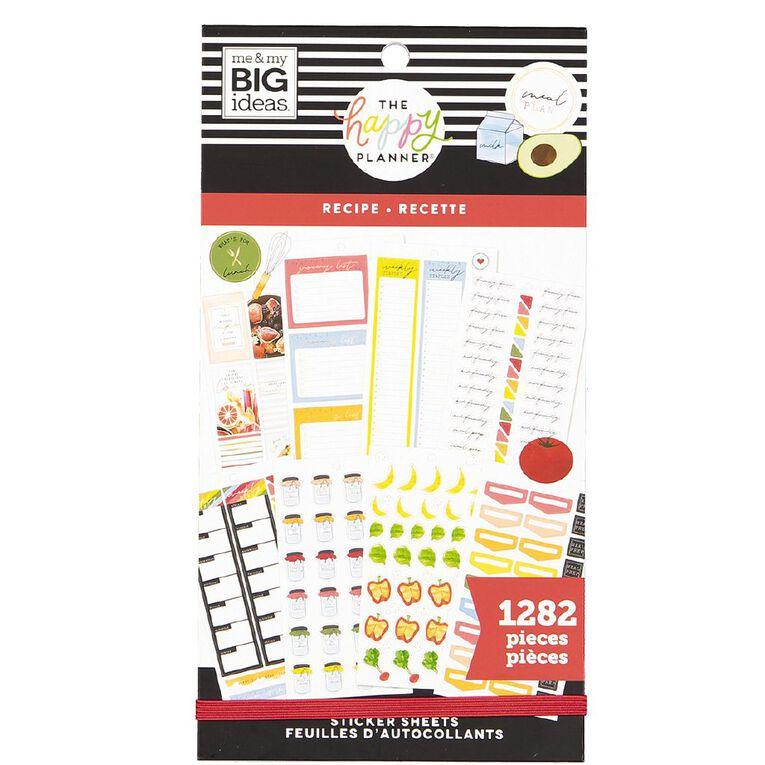 Me & My Big Ideas Sticker Book Recipe, , hi-res