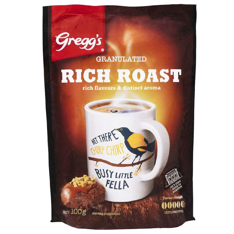 Gregg's Rich Roast Refill 100g, , hi-res