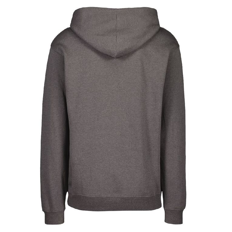 Schooltex Waiuku College Hoodie with Embroidery, Charcoal, hi-res