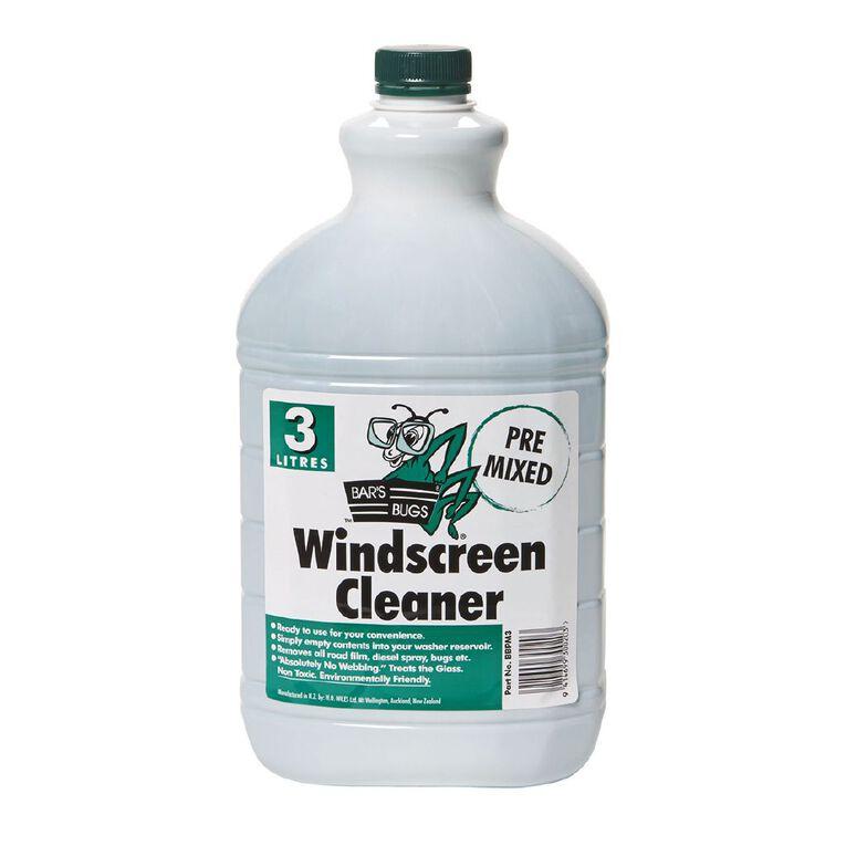 Bar's Bugs Pre-Mixed Windscreen Cleaner 3L, , hi-res
