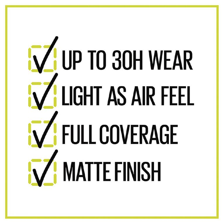 Maybelline Superstay 30hr Activewear Foundation 03 True Ivory, , hi-res
