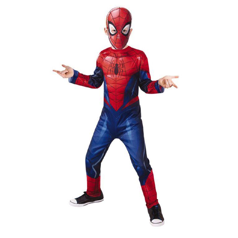 Spider-Man Disney Marvel Classic Costume 6-8 Years, , hi-res