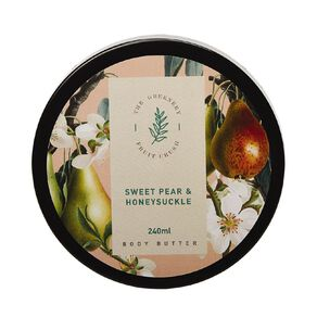 Winter Fruit Sweet Pear And Honey Suckle Body Butter 200ml