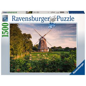 Ravensburger Windmill on the Baltic Sea 1500 Piece Puzzle