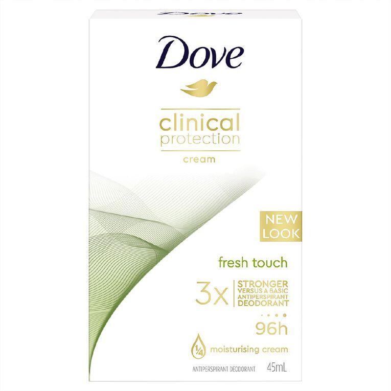 Dove Antiperspirant Cream Clinical 45ml, , hi-res