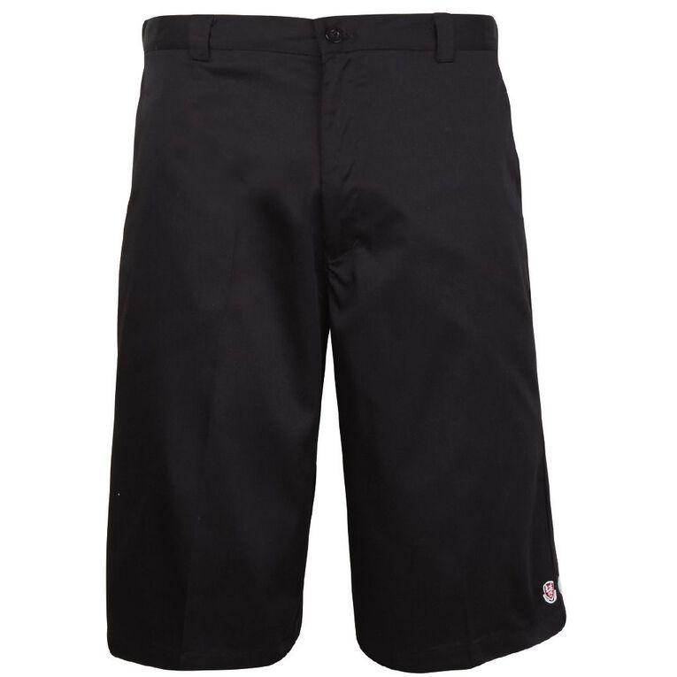 Schooltex Kamo High School Boys' Shorts, Black, hi-res