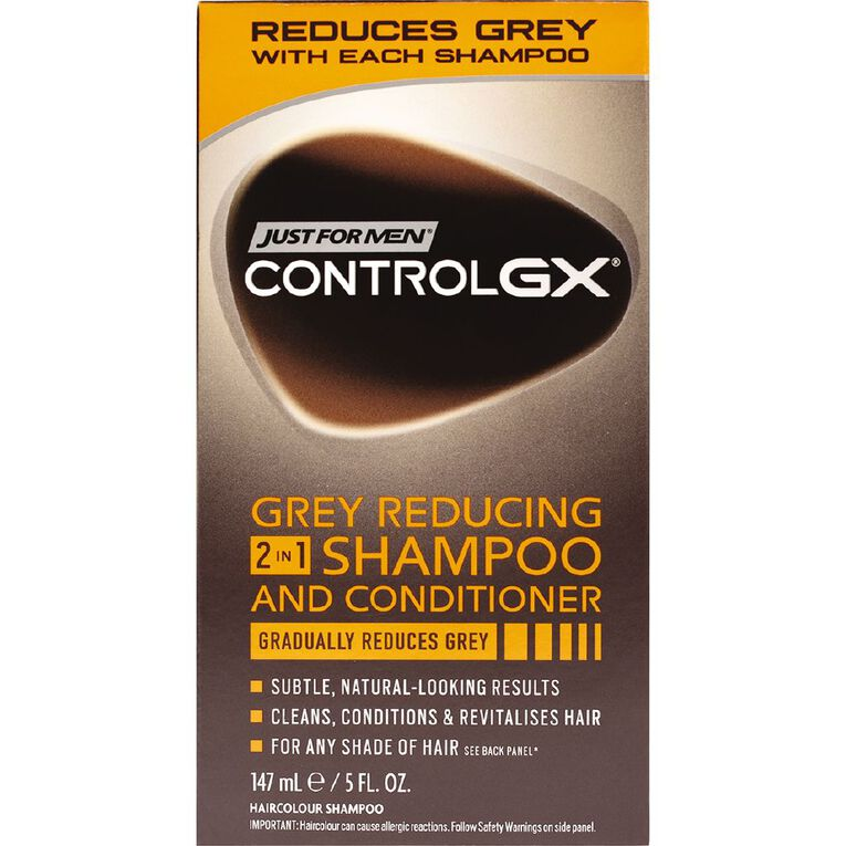 Just For Men Control GX Grey Removing 2-in1 147mL, , hi-res