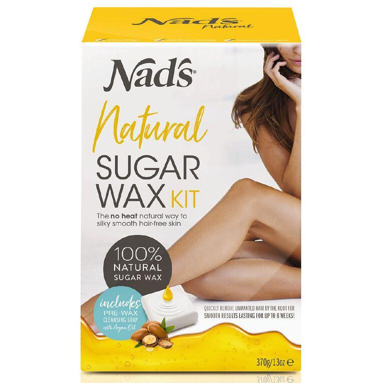 Nads Natural Sugar Wax Kit 370g, , hi-res