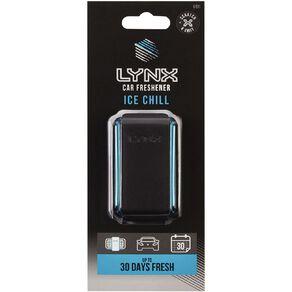Lynx Vent Mount Car Air Freshener Ice Chill