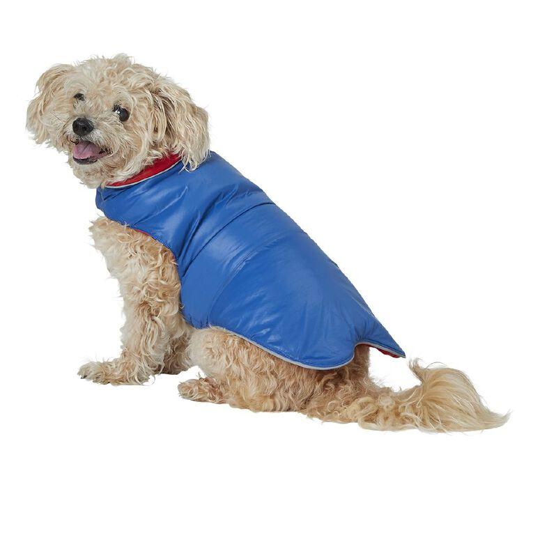 Petzone Reversible Puffer Jacket Red/Blue Large, , hi-res