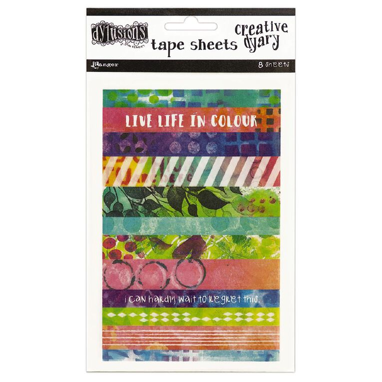Ranger Dylusions Creative Dyary Tape Strips, , hi-res