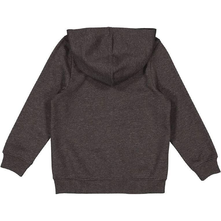 Young Original Plain Zip-Thru Hoodie, Grey Dark, hi-res image number null