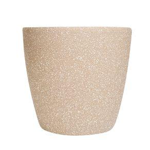 Kiwi Garden Sandstone Plastic Pot Tan 35cm