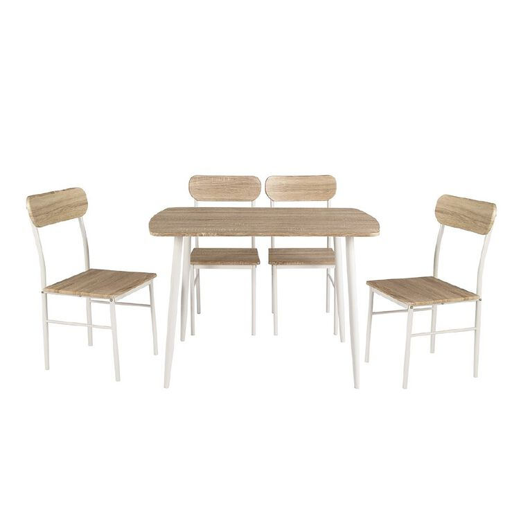 Living & Co Tucson Dining Set 5 Piece, , hi-res image number null