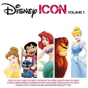 Icon Disney Volume 1 CD by Various Artists 1Disc
