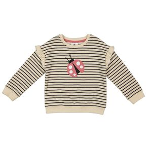 Young Original Toddler Frill Drop Shoulder Sweatshirt