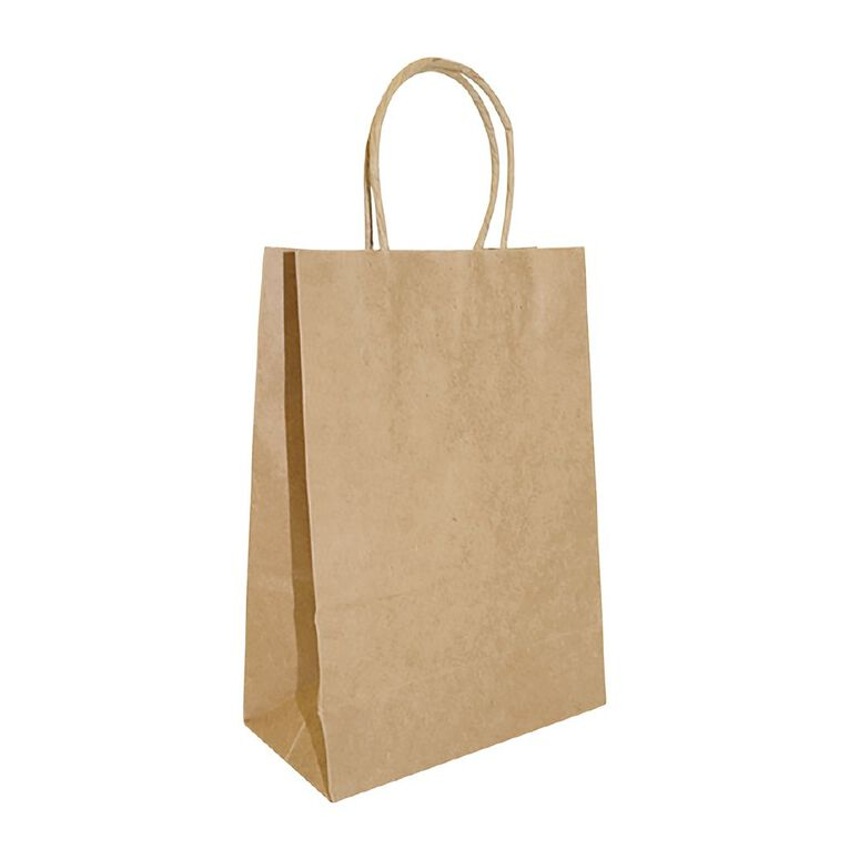 Accessory Twisted Handle Paper Bag 25 Pack, , hi-res