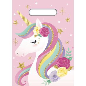 Artwrap Unicorn Party Bags 8 Pack