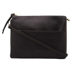 H&H Two Tone Crossbody Handbag