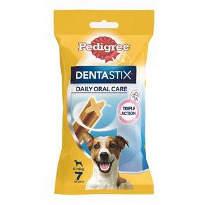 Pedigree Dentastix Dog Treats Daily Oral Care Small Dog 7 Sticks