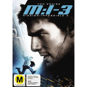 Mission Impossible 3 DVD 1Disc