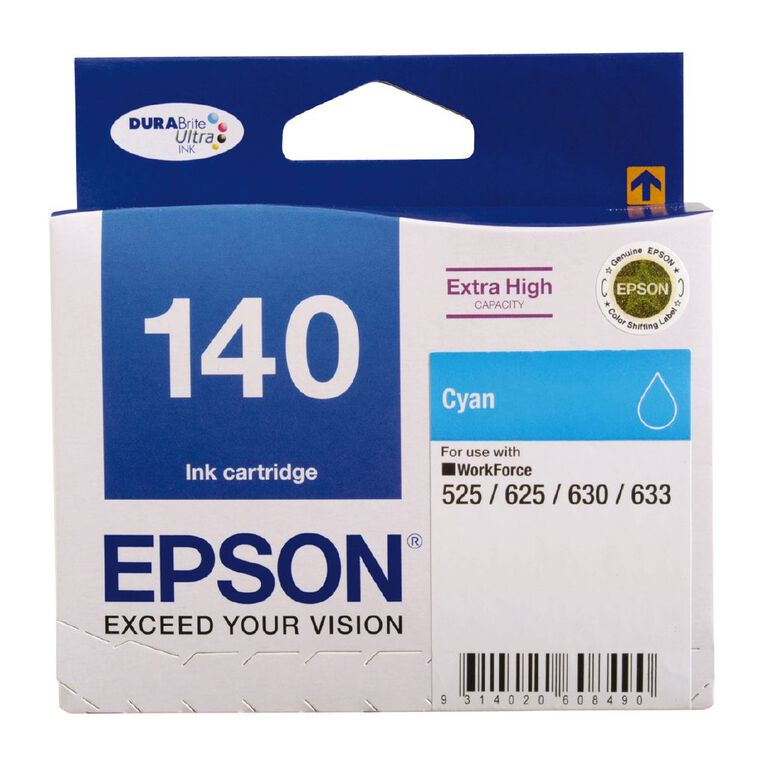 Epson Ink 140 Cyan (755 Pages), , hi-res