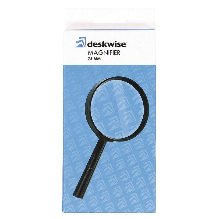 Deskwise Magnifier 75mm, , hi-res