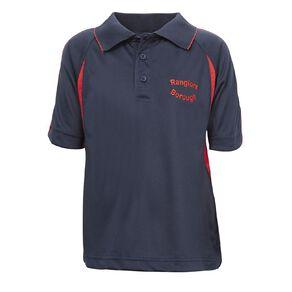 Schooltex Rangiora Borough School Short Sleeve Polo with Embroidery