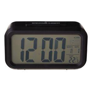 Living & Co Digital Alarm Clock 13.3 x 7cm Black