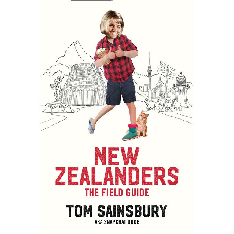 New Zealanders: A Field Guide by Tom Sainsbury, , hi-res