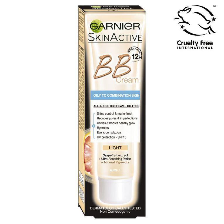Garnier Miracle Skin Perfector Oil-Free BB Cream Light 40ml, , hi-res