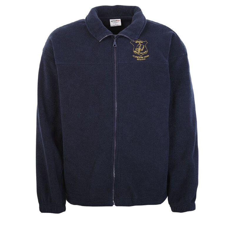 Schooltex Clendon Park Polar Fleece Jacket with Embroidery, Navy, hi-res