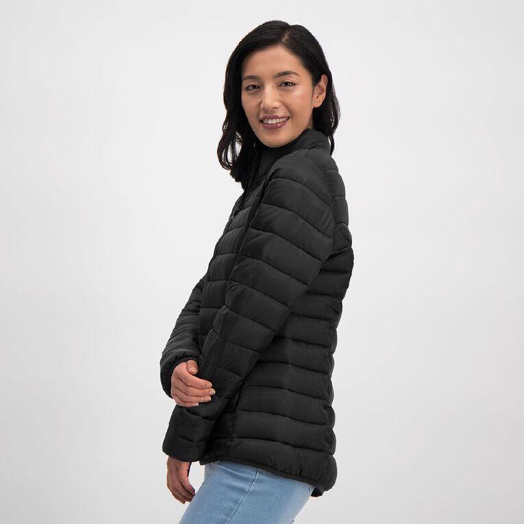 H&H Puffer Jacket, Black, hi-res