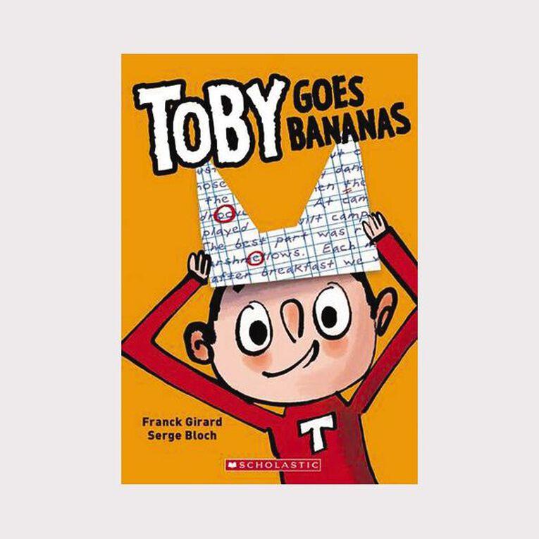 Toby Goes Bananas by Franck Girard & Serge Bloch, , hi-res
