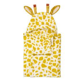 Babywise Hooded Blanket Giraffe