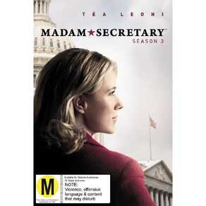 Madam Secretary Season 3 DVD 6Disc