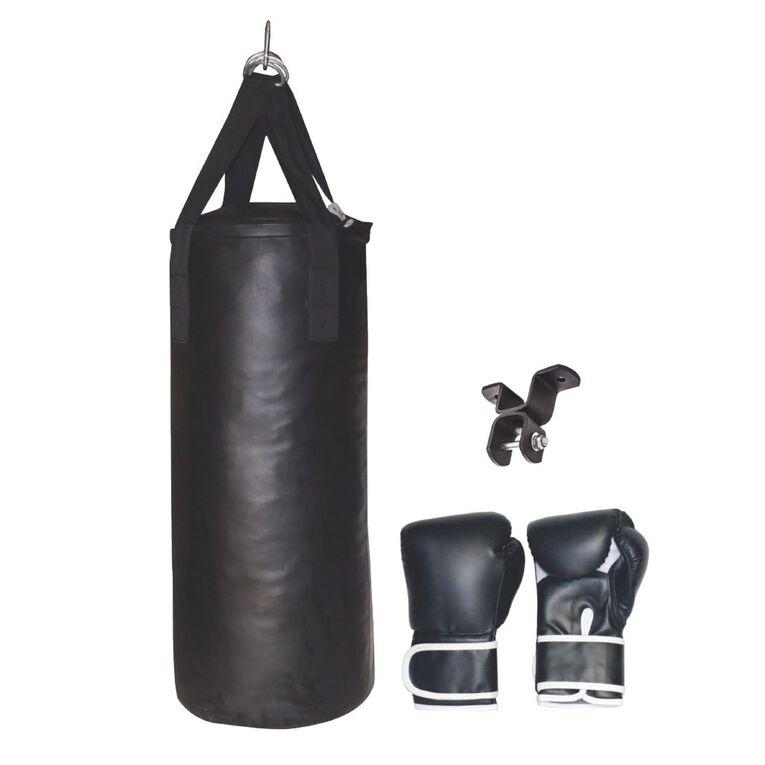 Active Intent Fitness Boxing Starter Kit Black, , hi-res