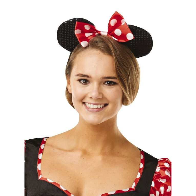 Minnie Mouse Adult Sassy Costume - Size S, , hi-res